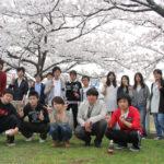 学生主催イベント、桜の下でみんなでランチ!