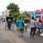 『食・芸術・読書の秋』新発田朝市十二斎市を開催