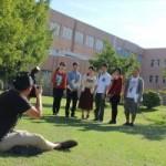 撮影快調!今年の大学パンフレットも「新潟美少女図鑑」のテクスファームさん!
