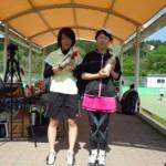 胎内市テニスオープンで、五十嵐さん(国際文化学科1年)が優勝!