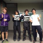 下越テニス大会で、五十嵐さん優勝、高山さん準優勝!