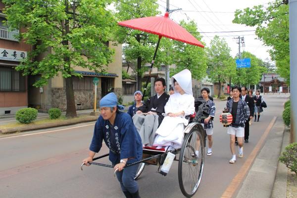 十二斎市の花嫁行列