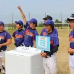軟式野球部出演テレビ番組「汗と涙のユニフォーム」(9月21日)
