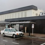 JR新発田駅が「なまこ壁」にリニューアル、テープカットに参加しました