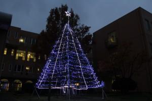 敬和学園大学クリスマスツリー01