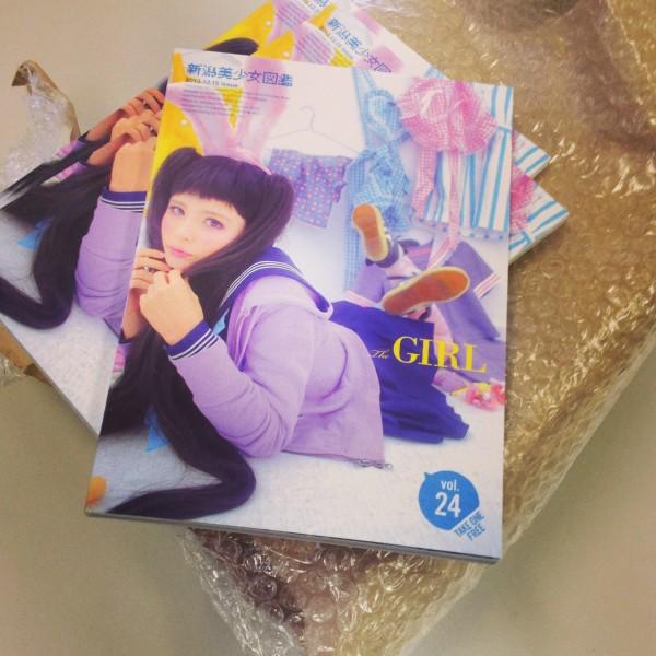 「新潟美少女図鑑」が届きました