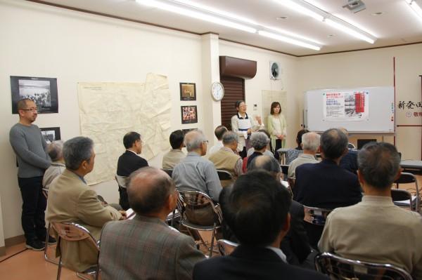 新発田学研究センターで用意した座席は、ほぼ満席に!