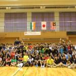 青少年バドミントン国際交流イベントに本学学生が参加