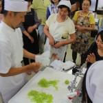 地元の文化を学ぶ。和菓子づくりに挑戦しました。