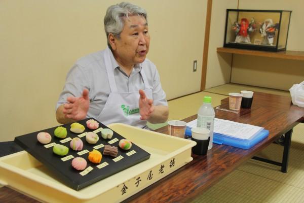 季節ごとの和菓子の変化について教えていただく
