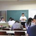 教職課程「教育実習反省会」が開催されました
