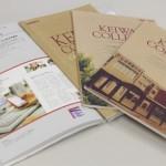 敬和学園大学キャンパスガイドが「大学案内のデザイン」誌に掲載
