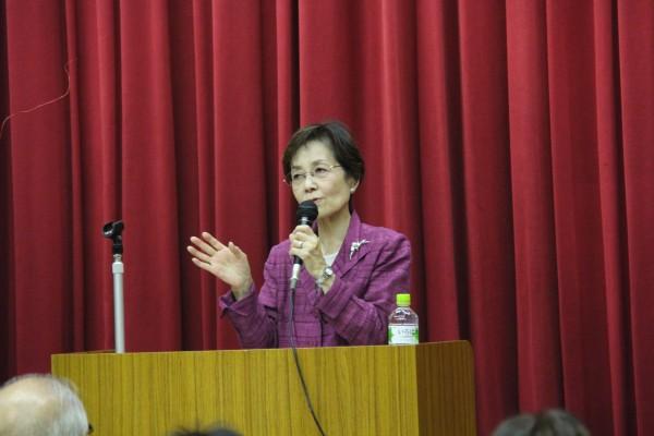 潮谷義子先生による講演「ともに生きる」