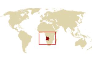 アフリカ南西部に位置するアンゴラ共和国