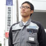「新潟綜合警備保障」勤務-和田絢誠さん(2010年度卒業)