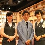 「菊水酒造」勤務-李海蘭さん(2011年度卒業)、丸山るり子さん(2013年度卒業)