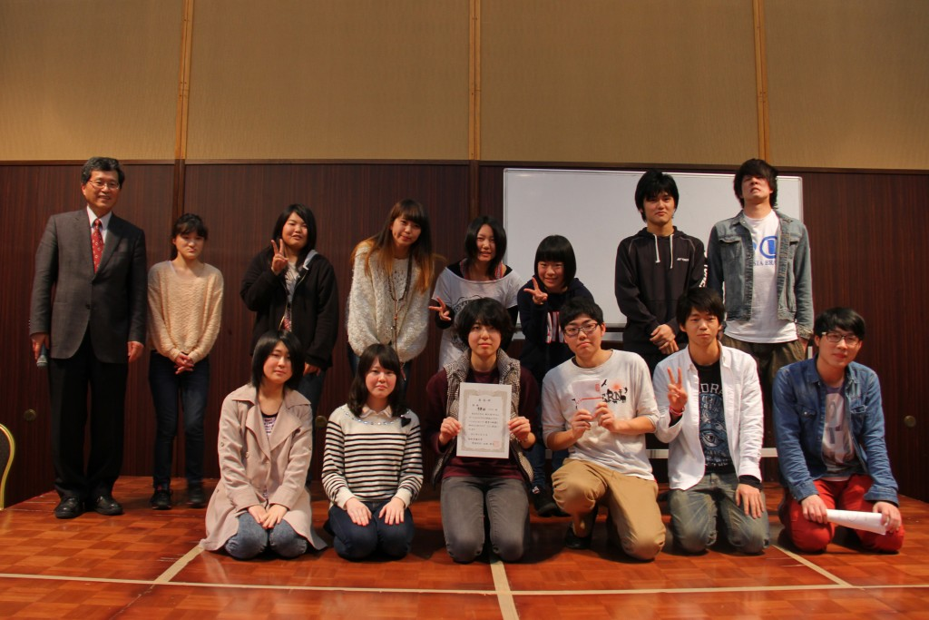 クラス対抗レクレーション、優勝は神田ゼミ!