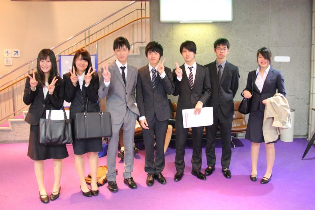 新しい仲間と共に、笑顔で大学生活をスタート!