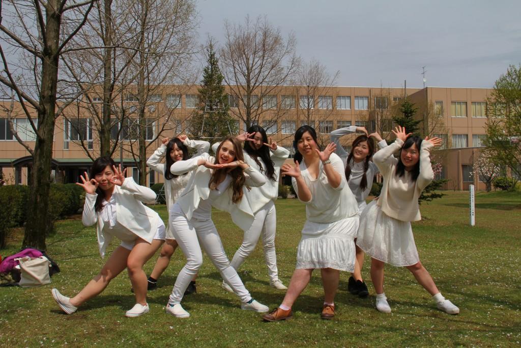国際ダンスサークルもイベントを盛り上げてくれました