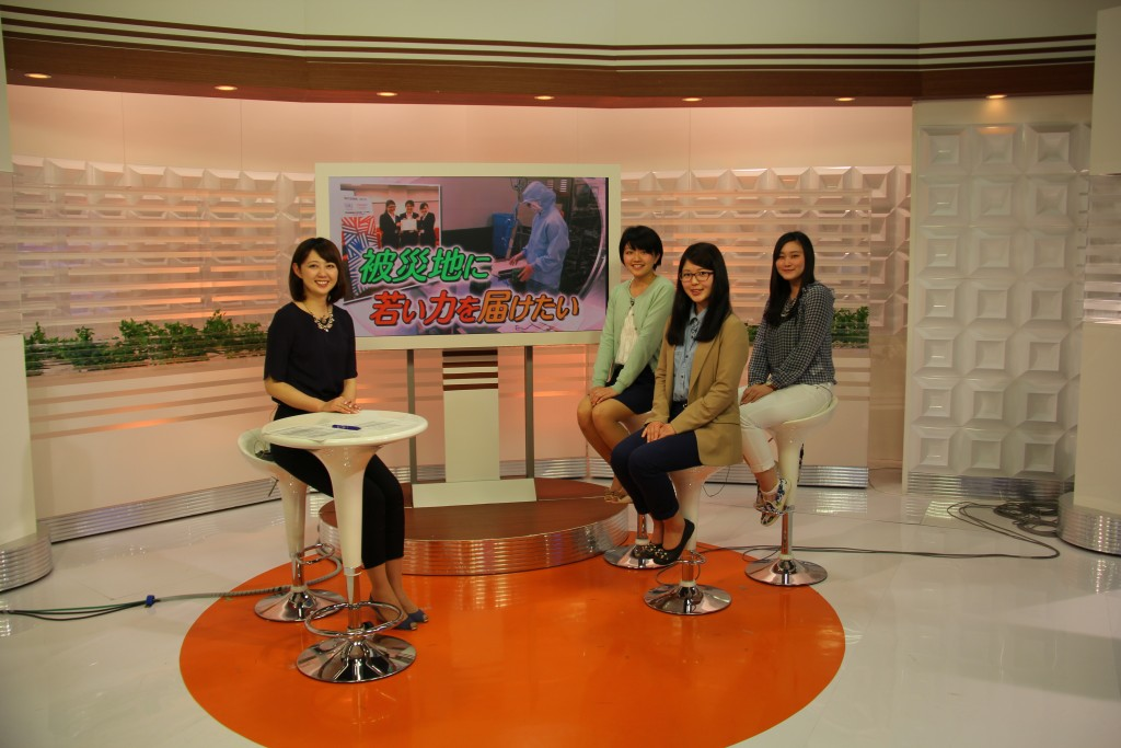 新潟ニュース610に出演しました(4月27日18:10~)