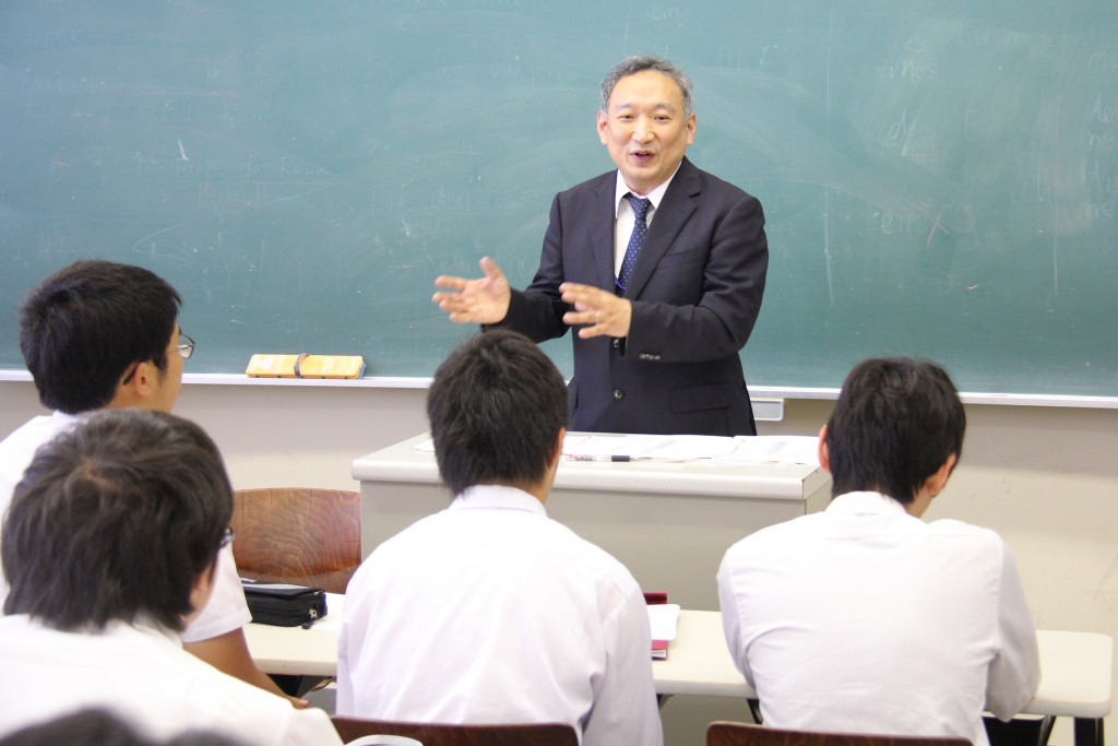 下田尾先生「敬和学園大学で学ぶキリスト教」