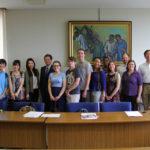 JCLPにより、海外から短期留学生たちがやってきました