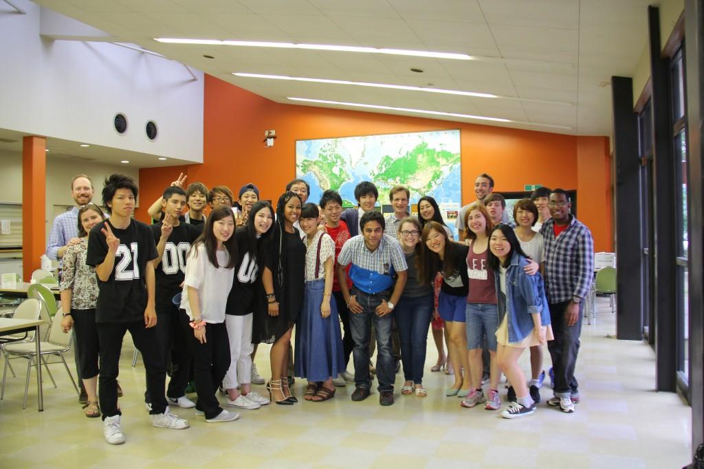 JCLP留学生と本学学生たち