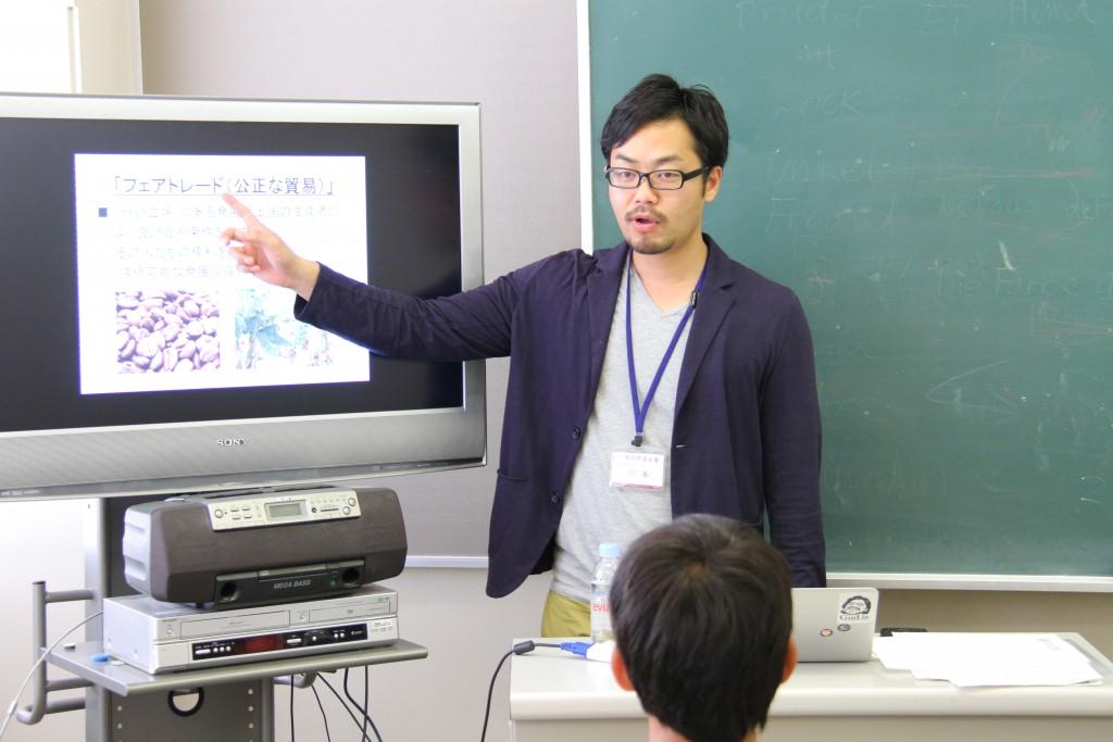 川本先生「社会の課題を解決する仕事~社会起業を考える~」