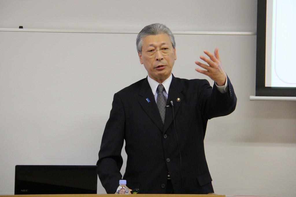 新発田市様、二階堂市長からのお話(4月24日)