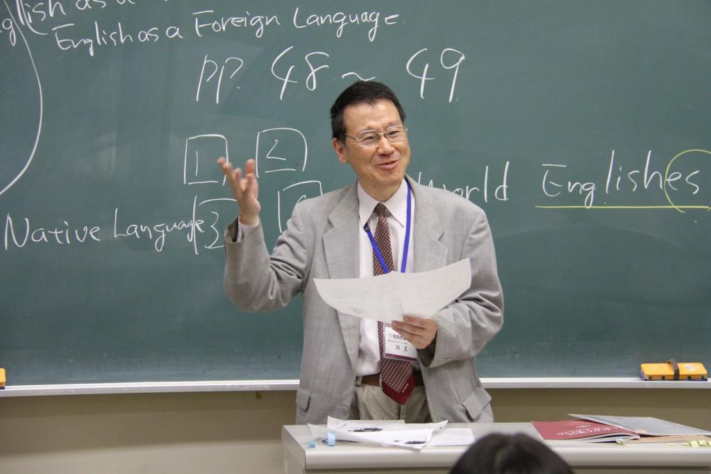 川又先生「英語の多様化と英語教育」