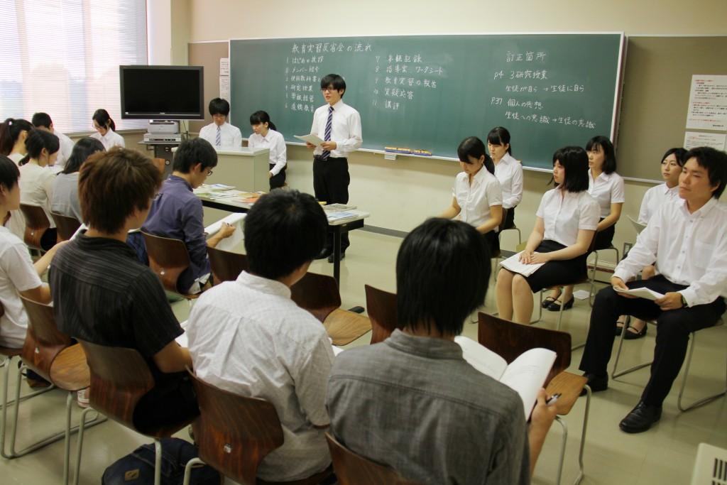 教育実習での経験と反省を伝えます
