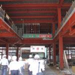 4月に開設する学生寮の建設現場を見学してきました
