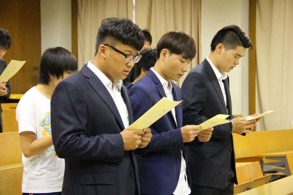 南京からの新入留学生たち
