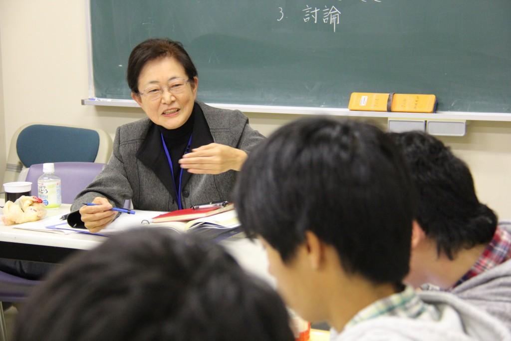 青山良子先生「共生とケア演習」
