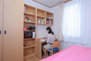 敬和学園大学学生寮 居住空間