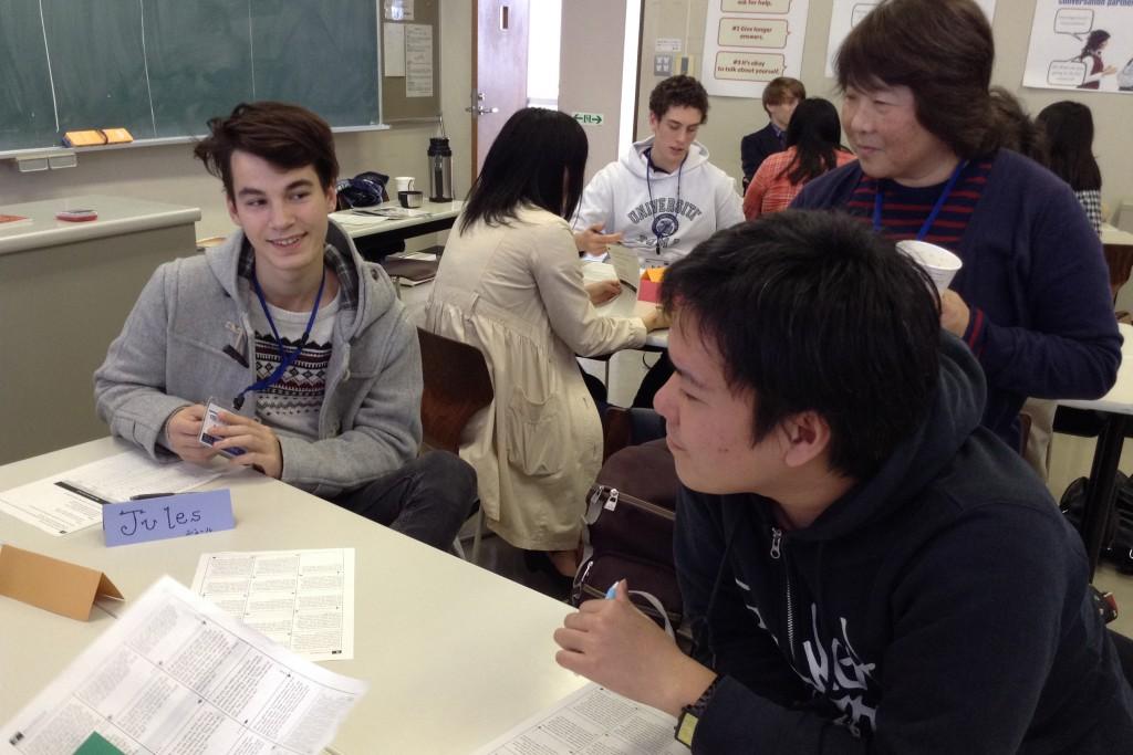 AFS留学生と敬和学園大学学生との交流