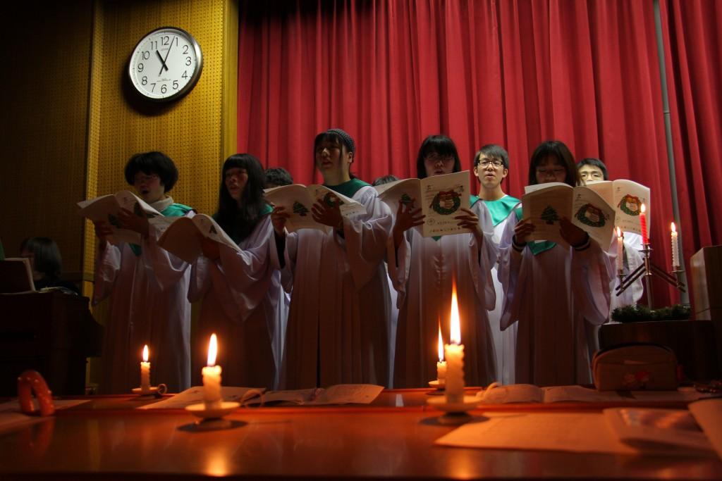 聖歌隊「KEIWA Choir」による讃美歌