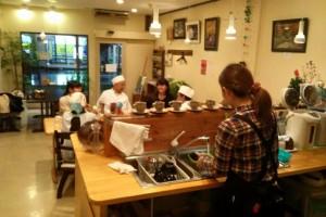 復興ランチ at まちカフェ・りんく