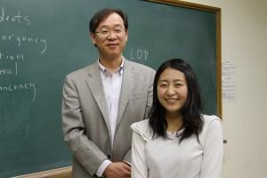 鈴木雛琴さんと中村義実先生