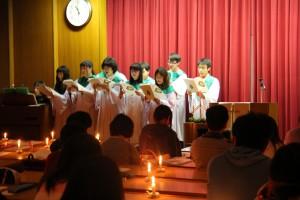 20151218クリスマス燭火礼拝34
