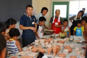 20110806子ども陶芸教室