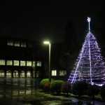 光の祭り(クリスマスツリー点灯式)