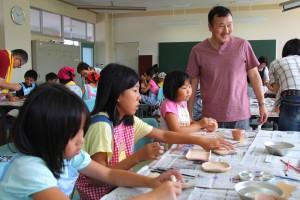 20120723キッズカレッジ子ども陶芸教室06