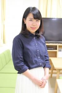 入寮学生の横山美紀さん