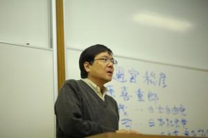 「日本近現代史」を担当する藤野豊先生