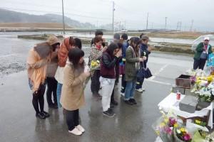 東日本大震災の被災地を訪ねました