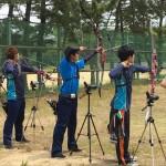 敬和学園大学の学生と職員が成年男女でアベック優勝!