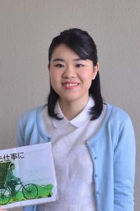 受講生の長濵美郷さん