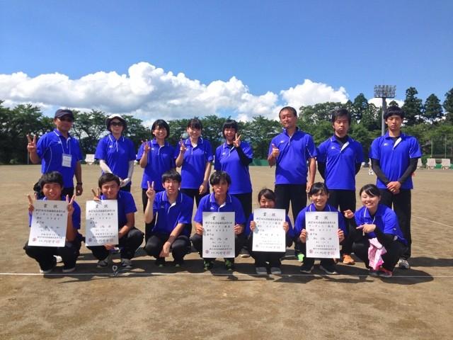 国体アーチェリー競技 新潟県選手団