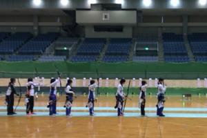 決勝ラウンドの様子(右から2番目が小林千尋さん)